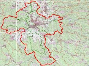 Območje Regije Ljubljana 1